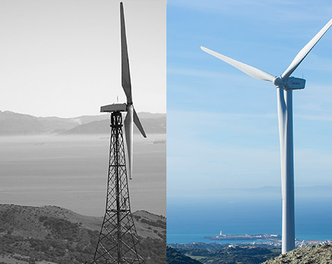 ACCIONA completely renovated wind farm service Spain